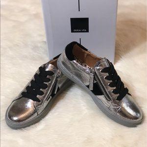 🆕 Dolce Vita Metallic Sneakers